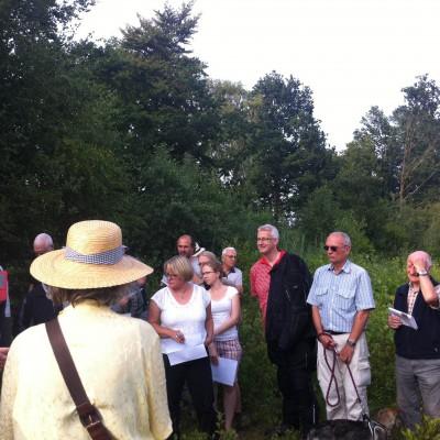 Auch Landrat Cord Bockhop und Bürgermeisterin Suse Laue haben sich das Gebiet angeschaut.